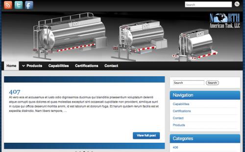 Springfield Mo Website design wordpress